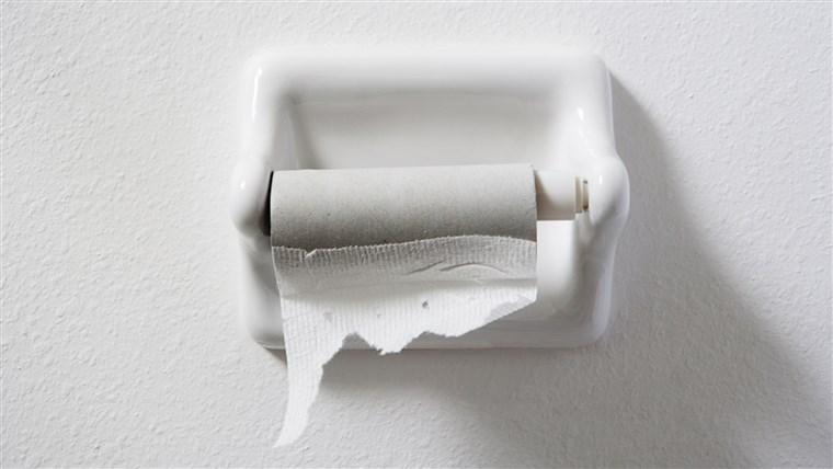 トイレットペーパー 紙ない