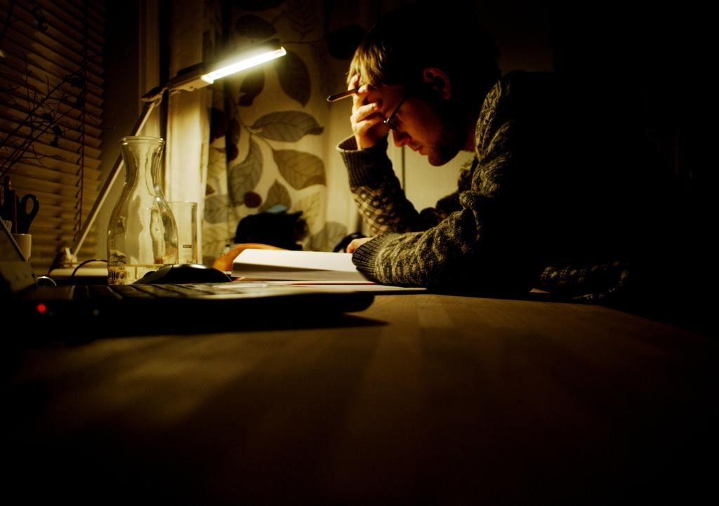 徹夜 勉強