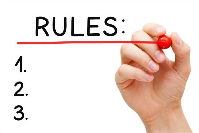 門限と規則