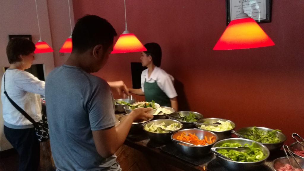 野菜 トッピング