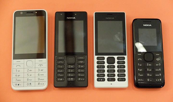 携帯電話の本体