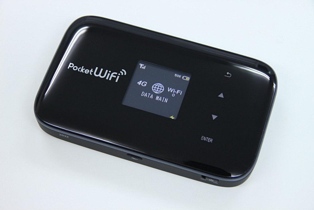 ポケットWi-Fiのルーター