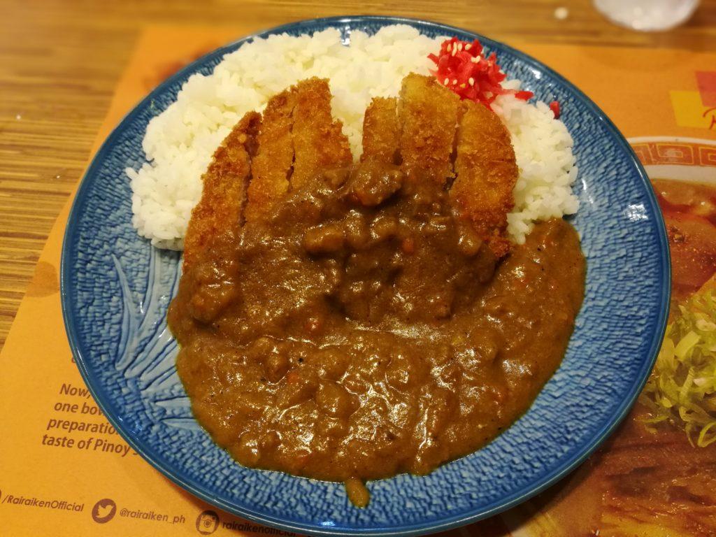 カツカレー 日本食