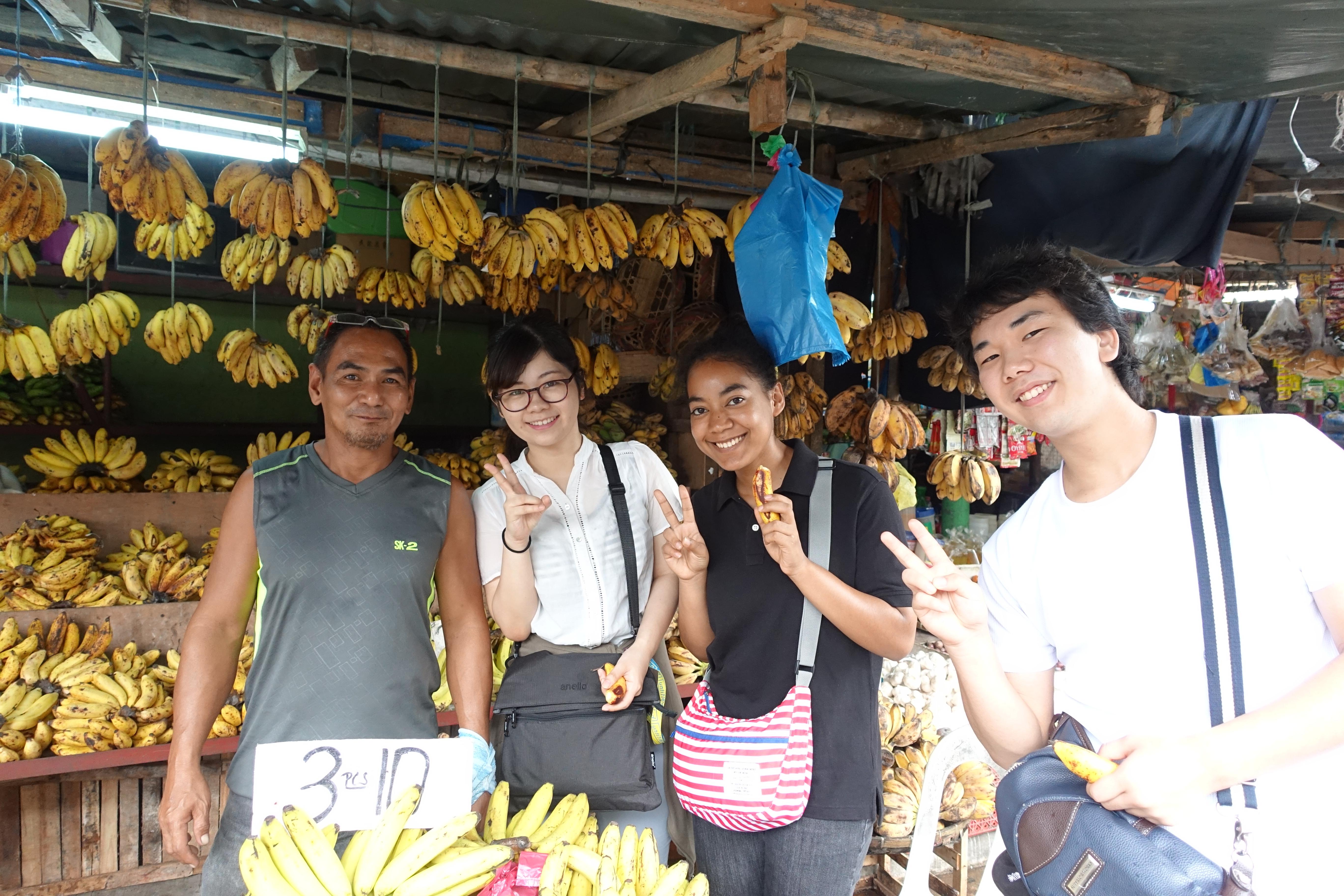 バナナ フィリピン
