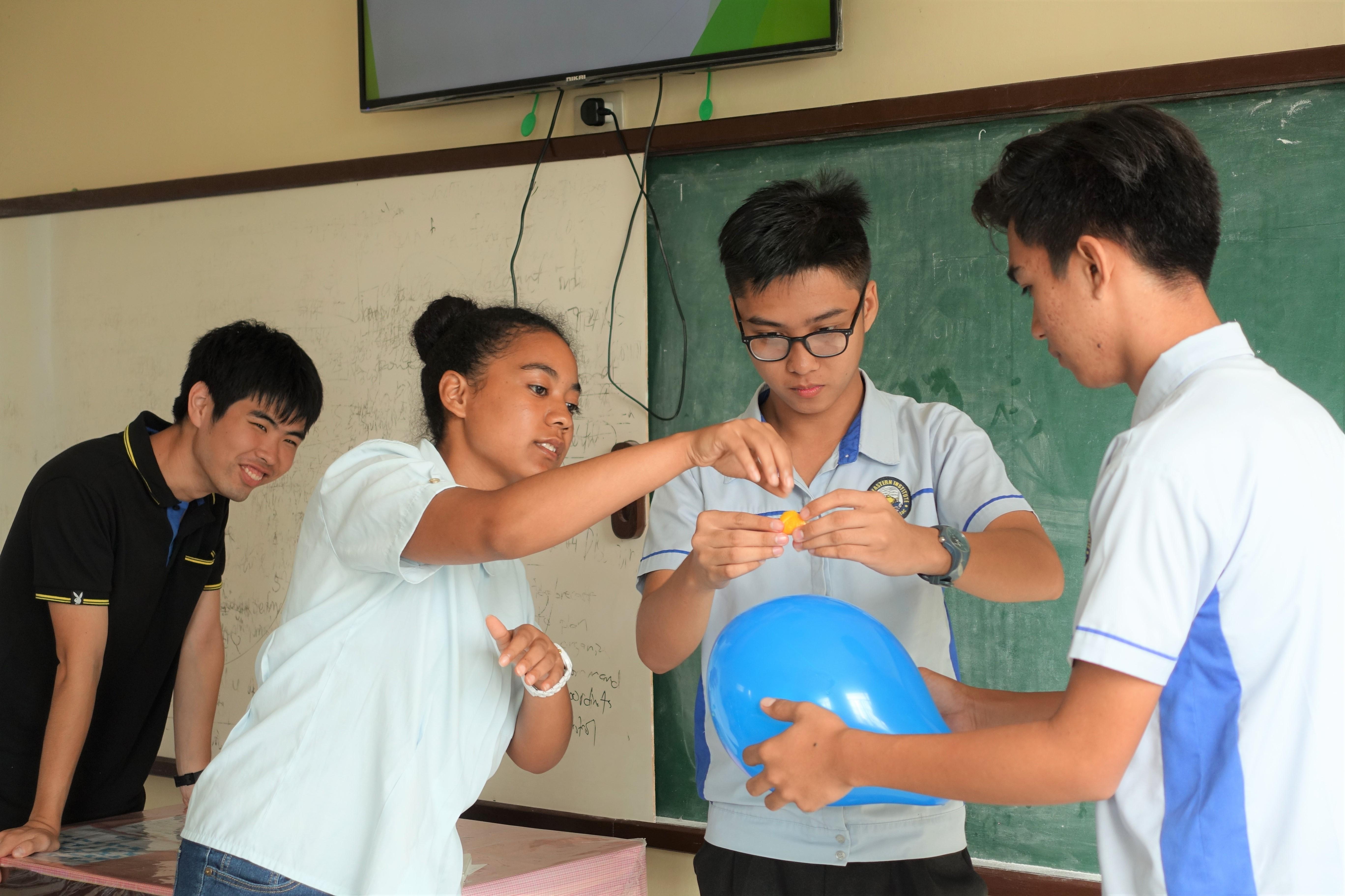 授業 実験