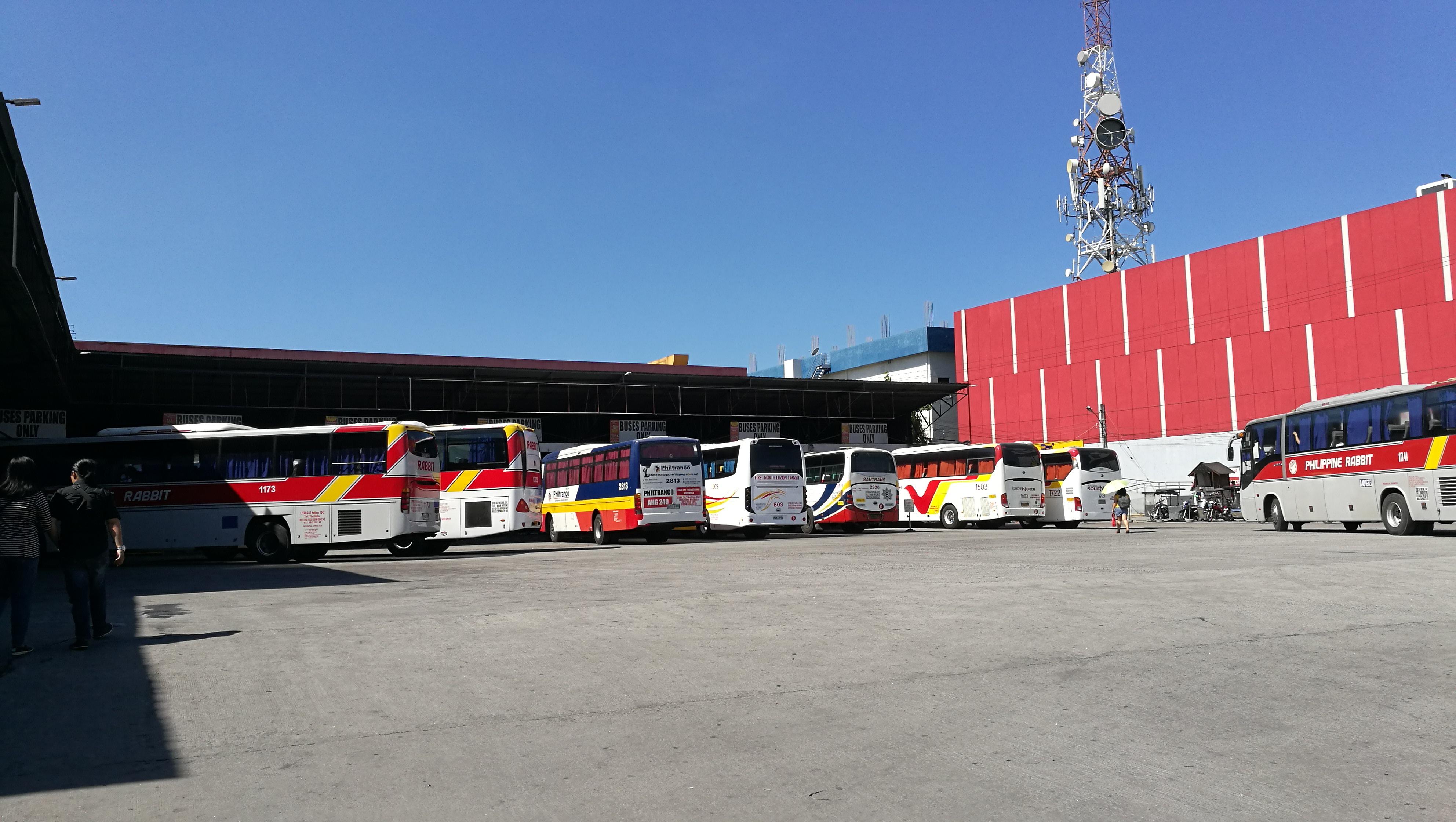 DAUのバスターミナル