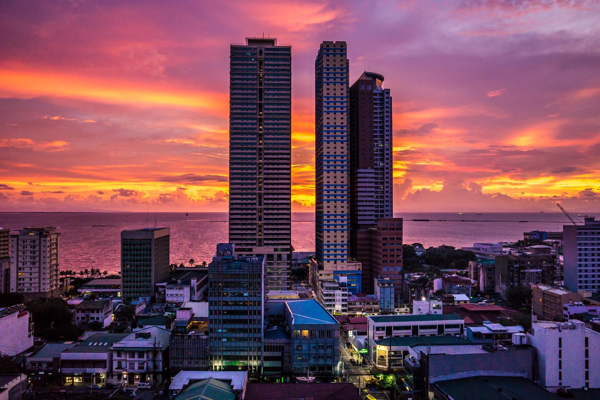 フィリピンの都市マニラ