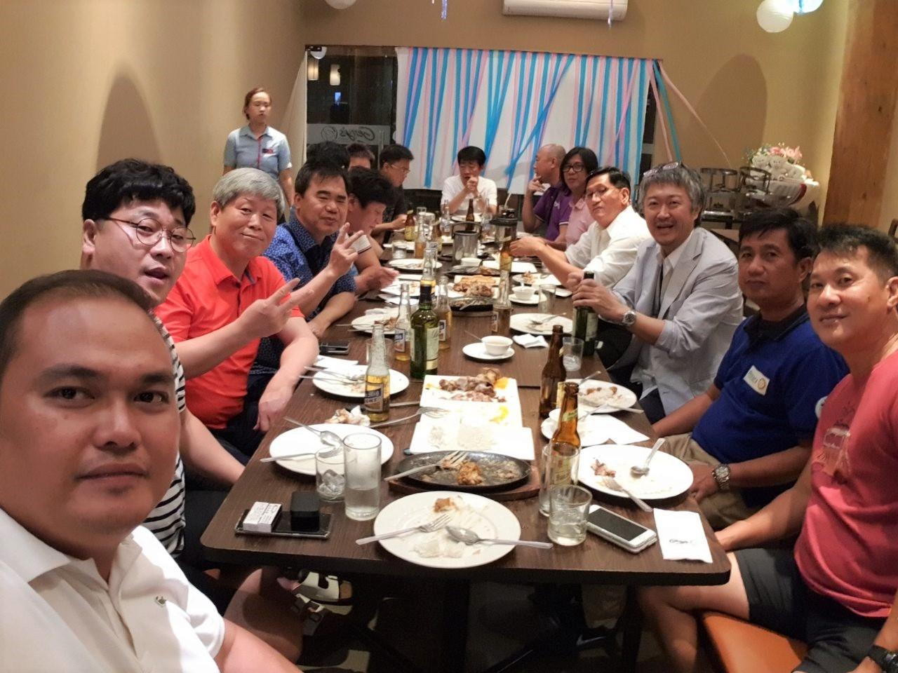 ロータリークラブの韓国人